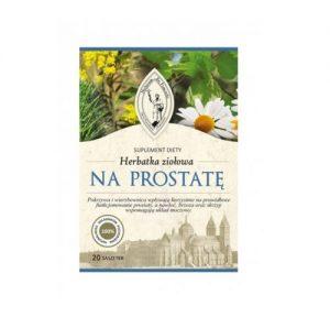 Herbatka ziołowa na prostatę
