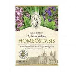 Herbatka ziołowa HOMEOSTASIS- równowaga kwasowo-zasadowa