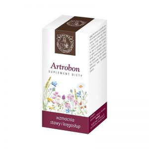 ARTROBON -  wzmacnia stawy i kręgosłup  60 kaps