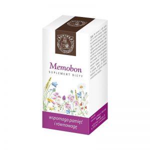 MEMOBON  - wspomaga pamięć i równowagę 60 kaps
