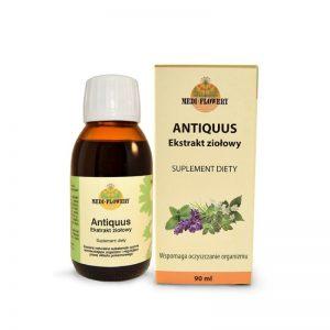 ANTIQUUS - ekstrakt ziołowy, wspomaga oczyszczenie organizmu 90ml