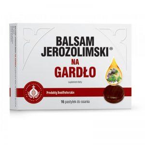 BALSAM JEROZOLIMSKI NA GARDŁO -  16 PASTYLEK DO SSANIA