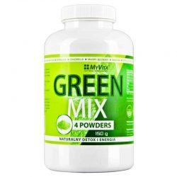 GREEN MIX 4w1 Spirulina Chlorella Młody Jęczmień Matcha 150g