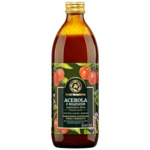 SOK ACEROLA Z MIĄŻSZEM 500ML Herbal Monasterium