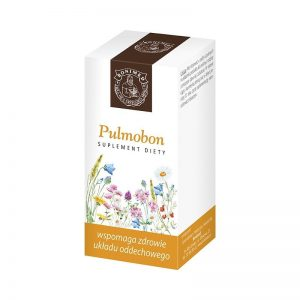 PULMOBON 60 KAPS - wspomaga zdrowie układu oddechowego