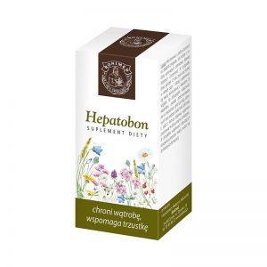 HEPATOBON - chroni wątrobę, wspomaga trzustkę 30 kaps