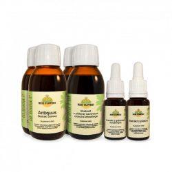 Zestaw ziołowy nr 1a wzmocniony na oczyszczenie jelit i oczyszczenie z pasożytów
