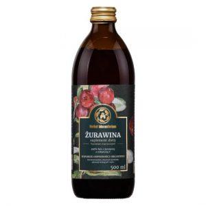 SOK Z ŻURAWINY 500ml Herbal Monasterium