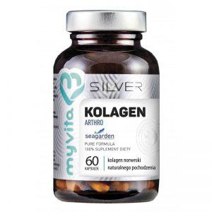 KOLAGEN ARTHRO 60 KAPS - naturalny kolagen norweski