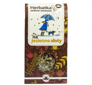 Herbatka ziołowo-owocowa NA JESIENNE SŁOTY 100g