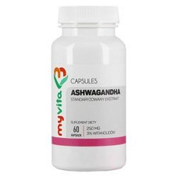 ASHWAGANDHA - standaryzowany ekstrakt