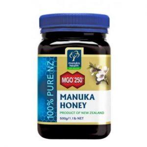 Miód Manuka MGO 250+ 500g (nawet do 381,8 mg/kg MGO)