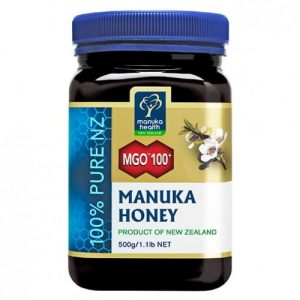 Miód Manuka MGO 100+ 500g (nawet do 179,7 mg/kg MGO)