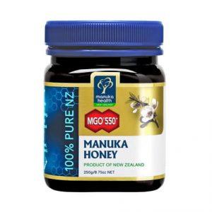 Miód Manuka MGO 550+ 250g (nawet do 770,5 mg/kg MGO)