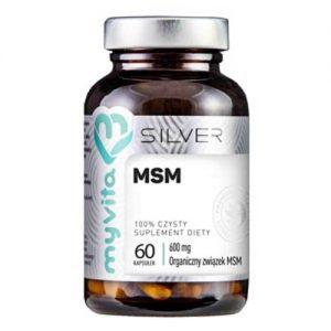 MSM 600 mcg - 60 kaps