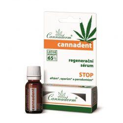 Serum regeneracyjne na pleśniawki i opryszczkę 5 ml -zawartość oleju konopnego 65%