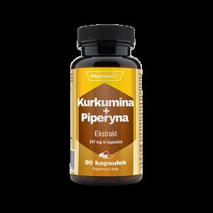 Kurkumina + Piperyna 247mg 90 kaps