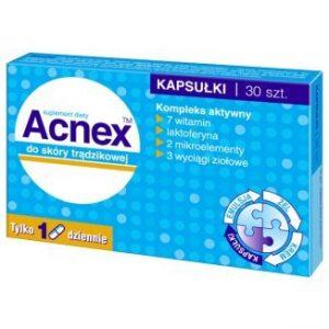Acnex - kapsułki do skóry trądzikowej 30 kaps