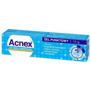 Acnex - żel punktowy do skóry trądzikowej 15g