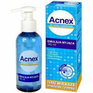 Acnex - emulsja myjąca do skóry trądzikowej 140ml