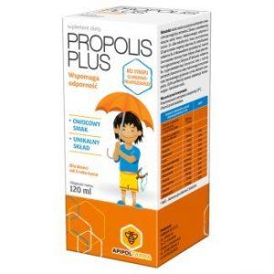 PROPOLIS PLUS - syrop dla dzieci od 3 roku życia