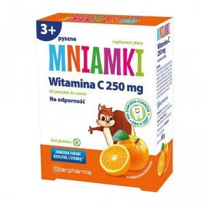 MNIAMKI - WITAMINA C 250 MG- pastylki do ssania