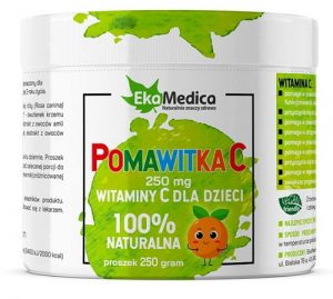 POMAWITKA C - naturalna witamina C dla dzieci 250g