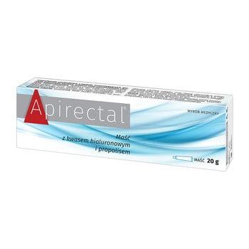 apirectal maść z kwasem hialuronowym i propolisem
