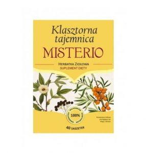 Klasztorna tajemnica MISTERIO - wzmacnia siły witalne organizmu