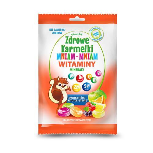 Witaminy zdrowe karmelki