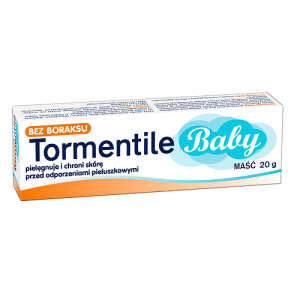 TORMENTILE BABY - chroni skórę przed odparzeniami pieluszkowymi