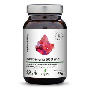 Berberyna 500 mg (Berberis aristata), kapsułki 60 szt.