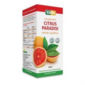 Virde Citrus Paradisi - ekstrakt z grejpfruta, 50 ml