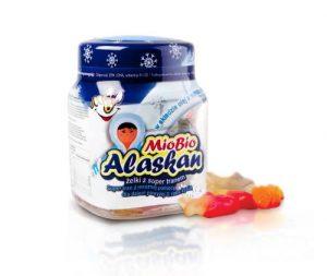 Mio Bio Alaskan - Żelki z super tranem