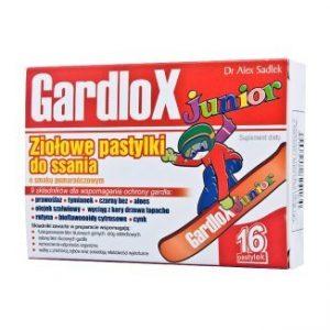 Gardlox Junior – pastylki ziołowe o smaku pomarańczowym