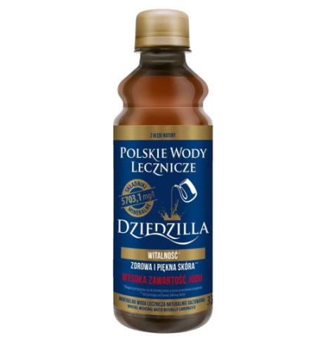 Woda lecznicza Dziedzilla - witalność 330ml