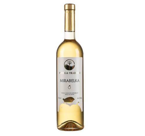 Wino z mirabelki słodkie 750ml