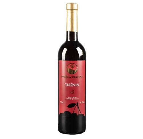 Wino wiśniowe słodkie 750ml