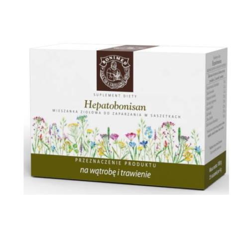 Hepatobonisan Ojca Grzegorza - na wątrobę i trawienie