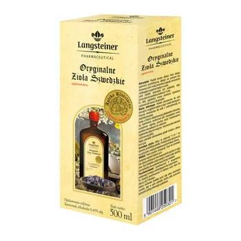 Zioła Szwedzkie Langsteiner 500ml